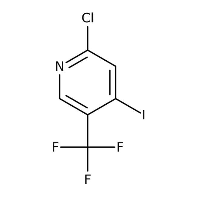 Alfa Aesar™2-Chloro-4-iodo-5-(trifluoromethyl)pyridine, tech. 90% 5g Alfa Aesar™2-Chloro-4-iodo-5-(trifluoromethyl)pyridine, tech. 90%