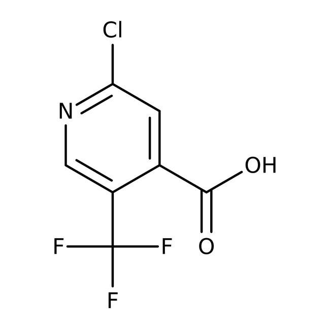 Alfa Aesar™2-Chloro-5-(trifluoromethyl)pyridine-4-carboxylic acid, 97% 250mg Alfa Aesar™2-Chloro-5-(trifluoromethyl)pyridine-4-carboxylic acid, 97%
