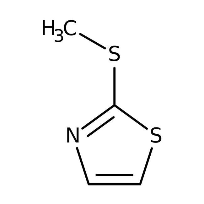 2-(Methylthio)thiazole 98.0+%, TCI America™