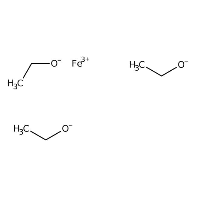 Alfa Aesar™Iron(III) ethoxide, soluble polymeric mixture 2g Alfa Aesar™Iron(III) ethoxide, soluble polymeric mixture