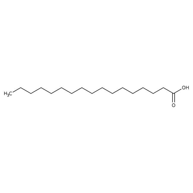 Acide heptadécanoïque, 98%, ACROS Organics™ 5g; flacon en verre Acide heptadécanoïque, 98%, ACROS Organics™