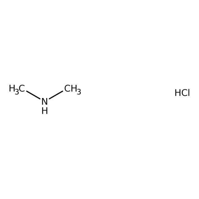 Dimethylamine hydrochloride, 99%, ACROS Organics™ 5g; Glass bottle Dimethylamine hydrochloride, 99%, ACROS Organics™