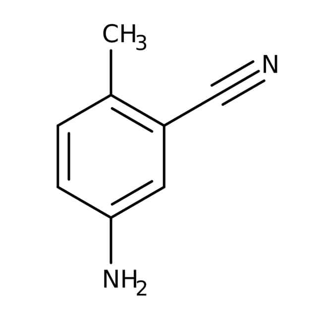 5-Amino-2-methylbenzonitrile, 97%, ACROS Organics™