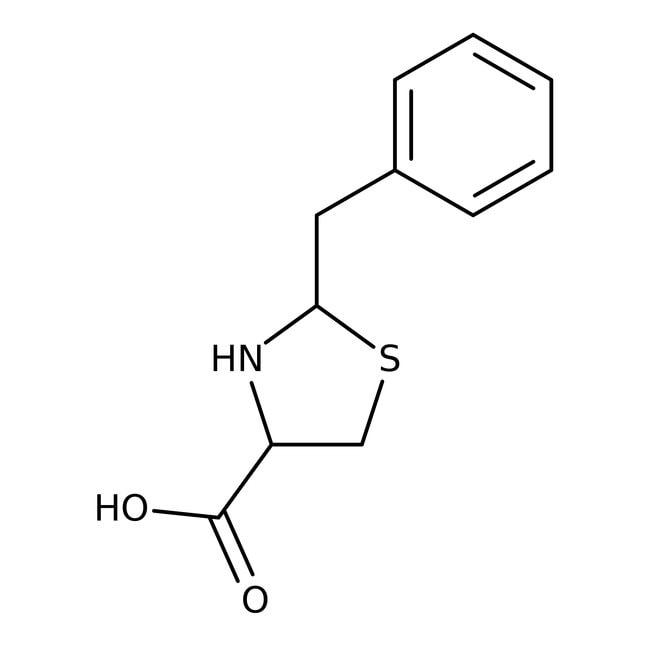 Alfa Aesar™2-Benzylthiazolidine-4-carboxylic acid, 97%