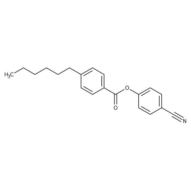 Alfa Aesar™4-n-Hexilbenzoato de 4-cianofenilo, 99% 1g Alfa Aesar™4-n-Hexilbenzoato de 4-cianofenilo, 99%