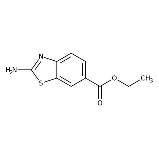 Alfa Aesar™Ethyl 2-aminobenzothiazole-6-carboxylate, 97% 1g Alfa Aesar™Ethyl 2-aminobenzothiazole-6-carboxylate, 97%