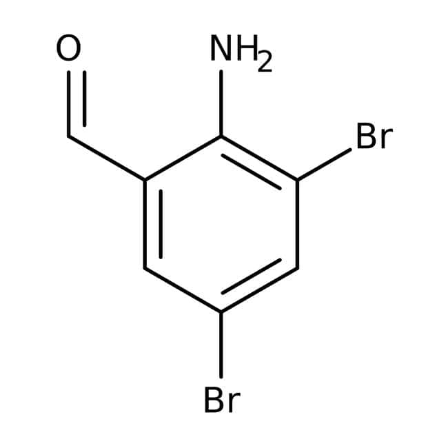 Alfa Aesar™2-Amino-3,5-dibromobenzaldehyde, 97%
