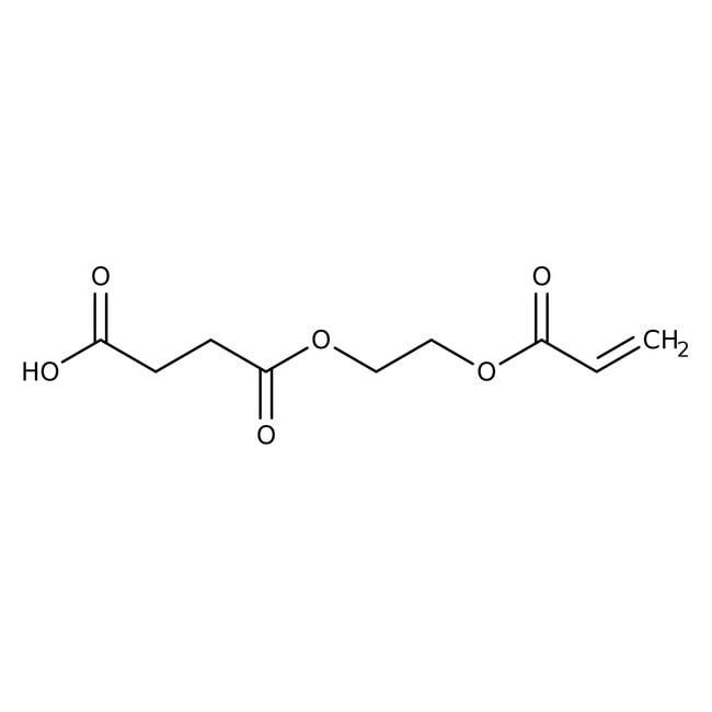 Mono(2-acryloyloxyethyl) Succinate (stabilized with MEHQ) 90.0+%, TCI America™