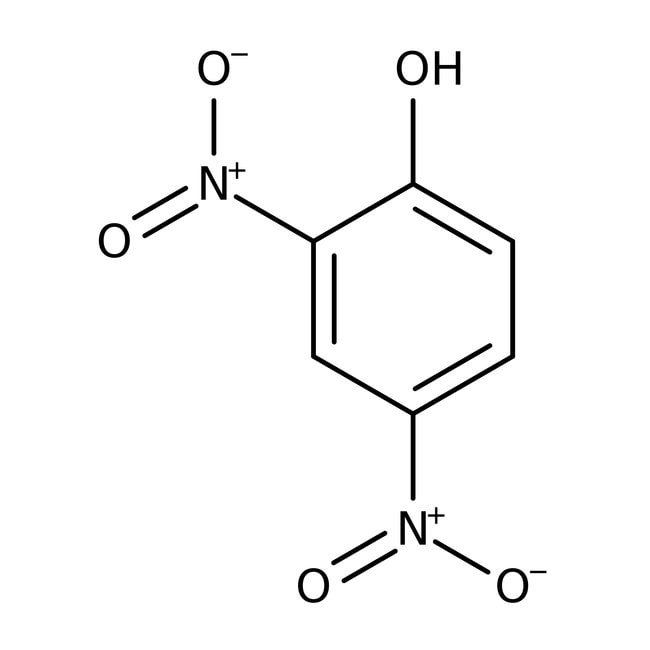 2,4-Dinitrophenol (wetted with ca. 20% Water) (unit weight on dry weight basis) 98.0 %, TCI America