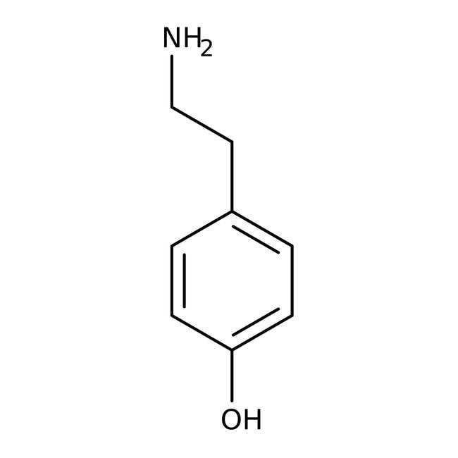 Tyramin, 98+% Alfa Aesar™ 25g Tyramin, 98+% Alfa Aesar™