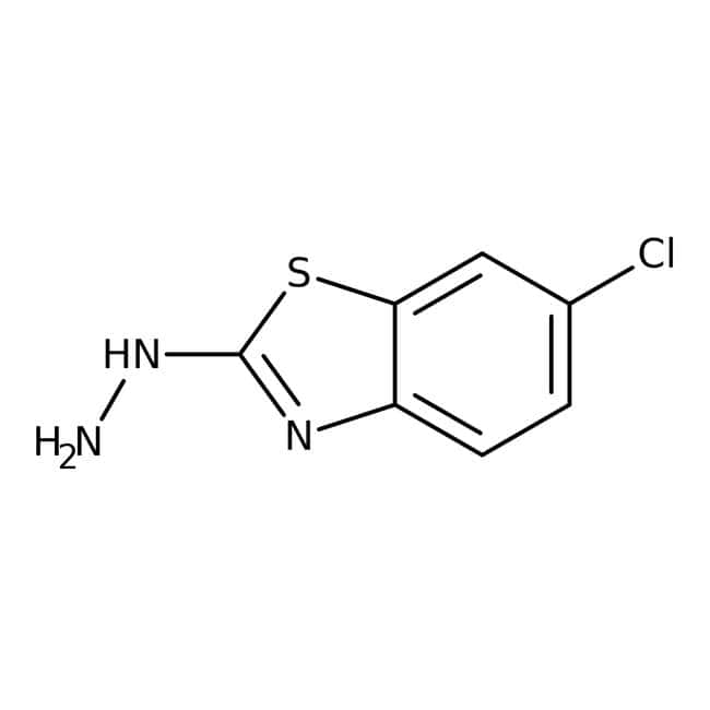1-(6-chloro-1,3-benzothiazol-2-yl)hydrazine, 97%, Maybridge™ Amber Glass Bottle; 1g 1-(6-chloro-1,3-benzothiazol-2-yl)hydrazine, 97%, Maybridge™
