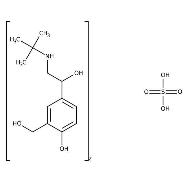 Salbutamol Hemisulfate 98.0+%, TCI America™