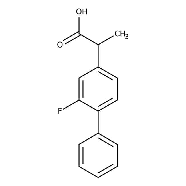 Flurbiprofen, 98%, ACROS Organics™  Flurbiprofen, 98%, ACROS Organics™