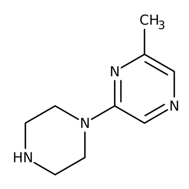 2-Methyl-6-piperazin-1-ylpyrazin, ≥ 95 %, Maybridge Braunglasflasche, 1 g 2-Methyl-6-piperazin-1-ylpyrazin, ≥ 95 %, Maybridge