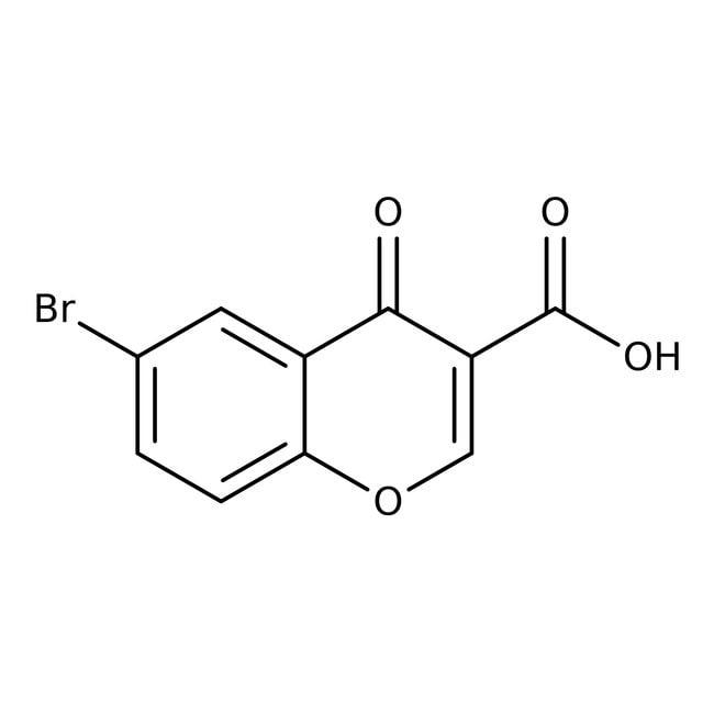 Alfa Aesar™6-Bromochromone-3-carboxylic acid, 97% 5g Alfa Aesar™6-Bromochromone-3-carboxylic acid, 97%