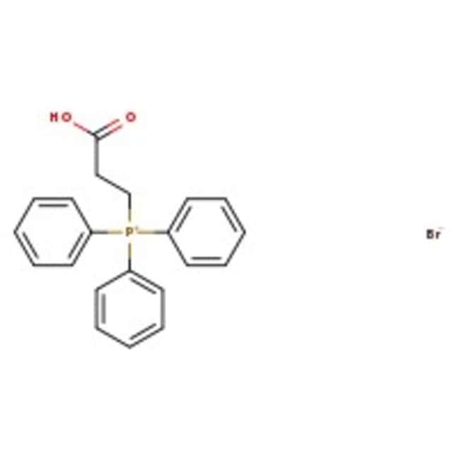 (2-Carboxyethyl)triphenylphosphonium bromide, 97%, ACROS Organics™