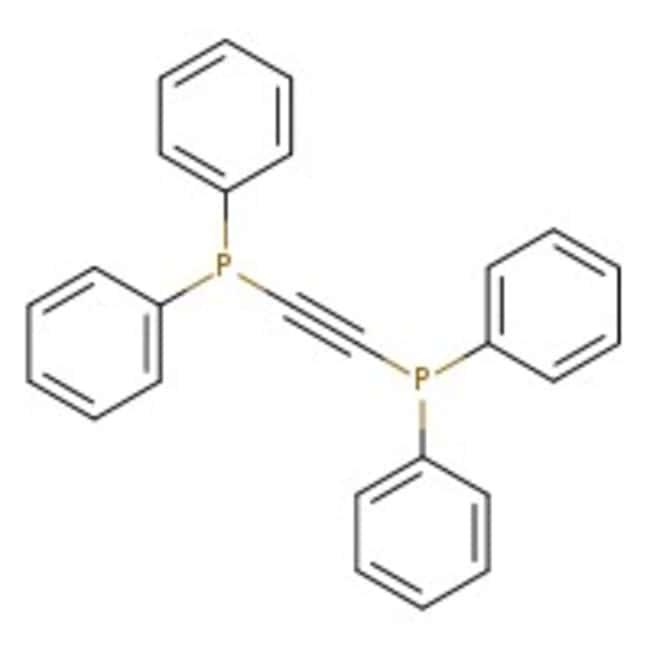 Bis(diphenylphosphino)acetylene, 98%, ACROS Organics
