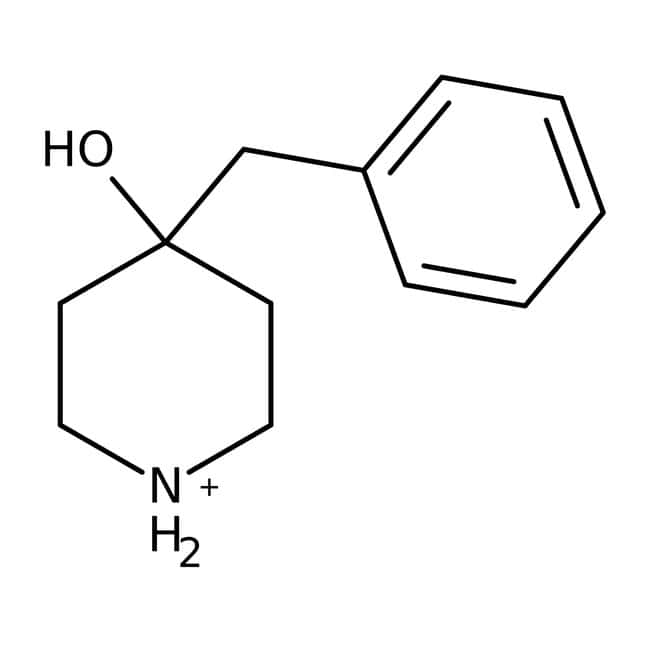 4-Benzyl-4-hydroxypiperidine, 95%, Acros Organics 1g; Glass bottle 4-Benzyl-4-hydroxypiperidine, 95%, Acros Organics
