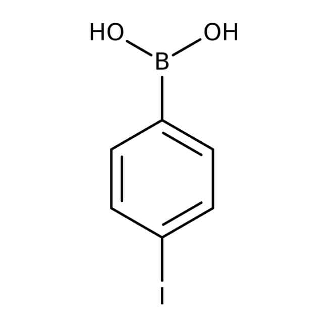 4-Iodophenylboronic acid, 97%, ACROS Organics