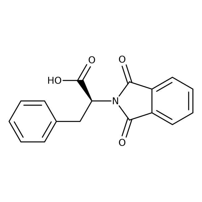Alfa Aesar™N-phthaloyl-L-phénylalanine, 98% 25g Alfa Aesar™N-phthaloyl-L-phénylalanine, 98%