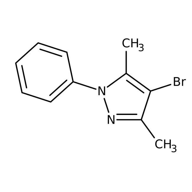 4-bromo-3,5-dimethyl-1-phenyl-1h-pyrazole, 97%, Maybridge™ 250mg 4-bromo-3,5-dimethyl-1-phenyl-1h-pyrazole, 97%, Maybridge™
