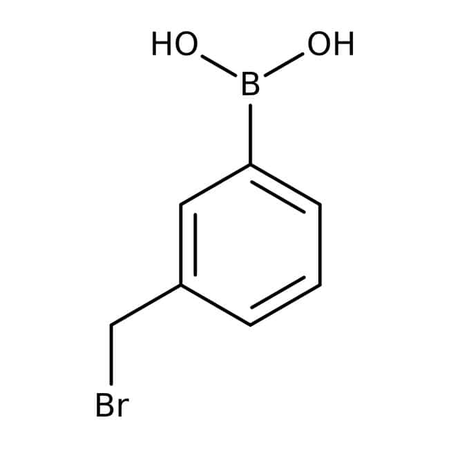 3-(Bromomethyl)phenylboronic acid, 97%, ACROS Organics