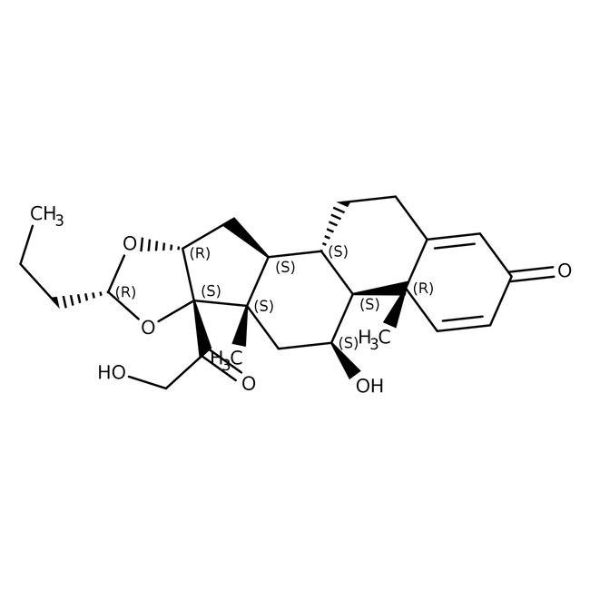 Budesonide, 97%, ACROS Organics™ 1g Budesonide, 97%, ACROS Organics™