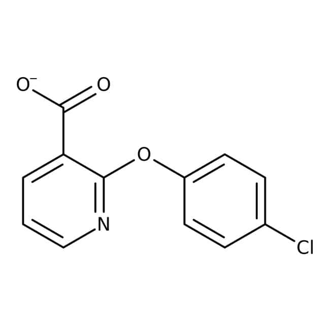 Alfa Aesar™2-(4-Chlorophenoxy)nicotinic acid, 98% 1g Alfa Aesar™2-(4-Chlorophenoxy)nicotinic acid, 98%