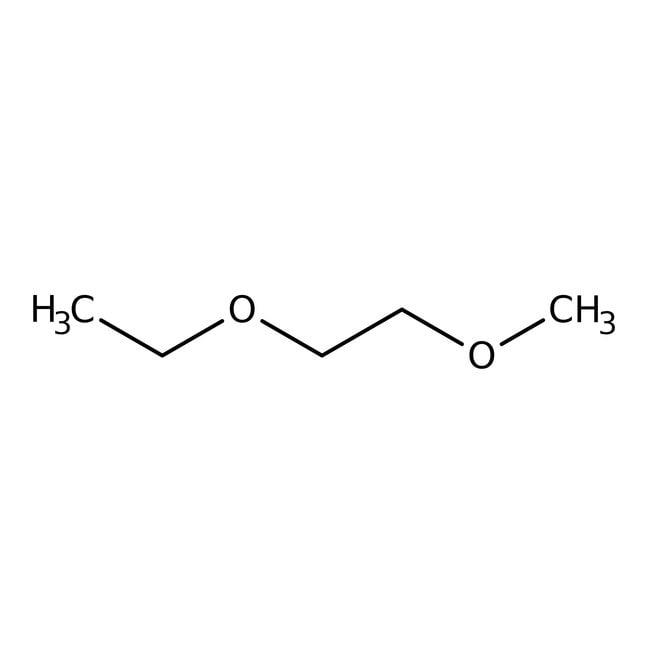 Alfa Aesar™Ethylene glycol ethyl methyl ether, 97%, stab. with 0.01% BHT 10g Alfa Aesar™Ethylene glycol ethyl methyl ether, 97%, stab. with 0.01% BHT