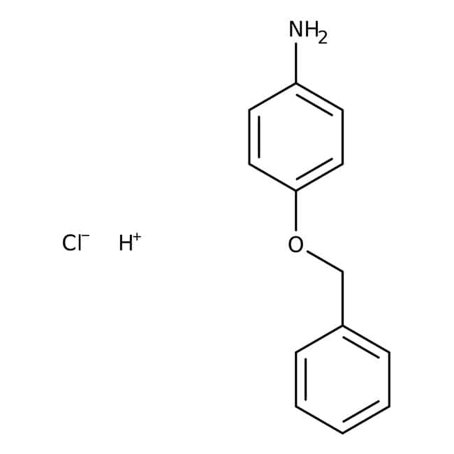 Alfa Aesar™4-Benzyloxyaniline hydrochloride, 98% 100g prodotti trovati