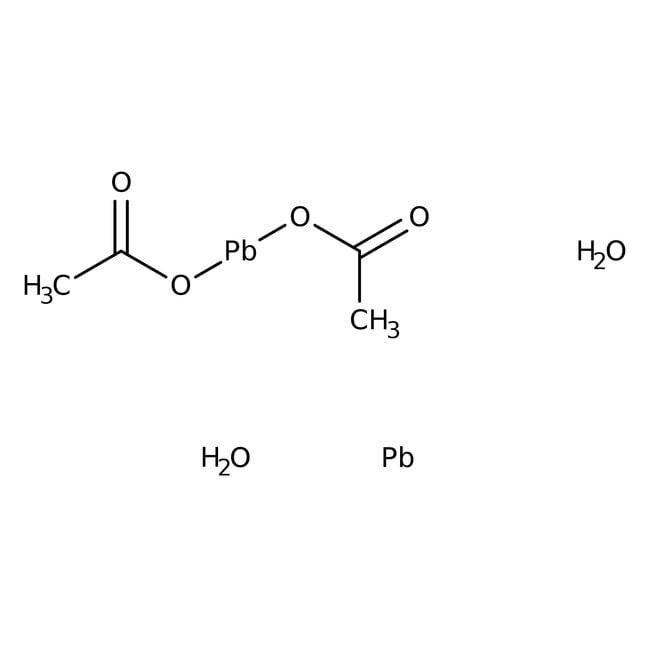 Lead(II) acetate basic, ACS reagent, Acros Organics 1kg Lead(II) acetate basic, ACS reagent, Acros Organics