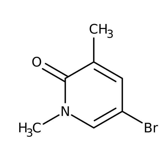 Alfa Aesar™5-Bromo-1,3-dimethyl-2-pyridone, 97% 1g Alfa Aesar™5-Bromo-1,3-dimethyl-2-pyridone, 97%