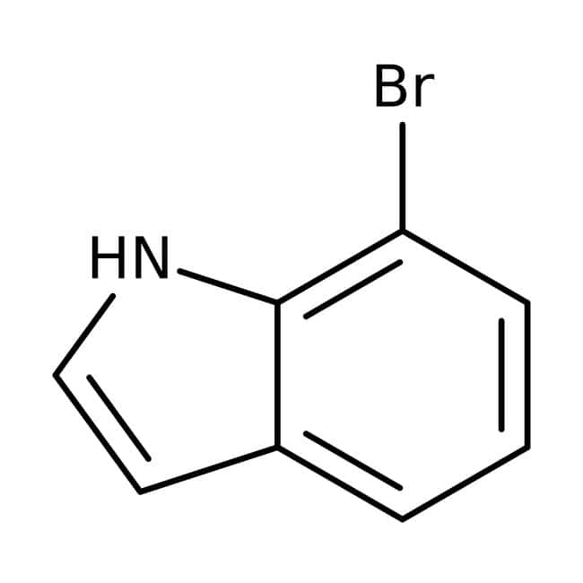 7-Bromoindol, 97 %, Maybridge Braunglasflasche, 25 g 7-Bromoindol, 97 %, Maybridge