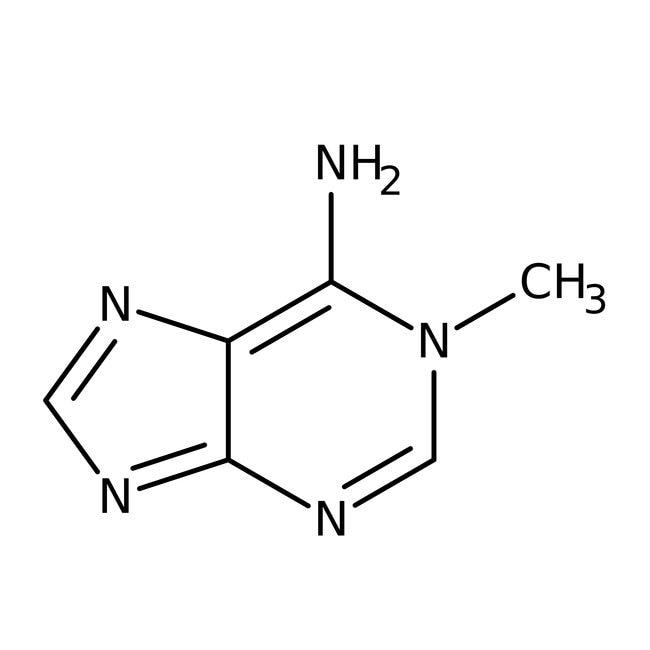 1-Methyladenine, 98+%, ACROS Organics™ 100mg; Glass bottle 1-Methyladenine, 98+%, ACROS Organics™