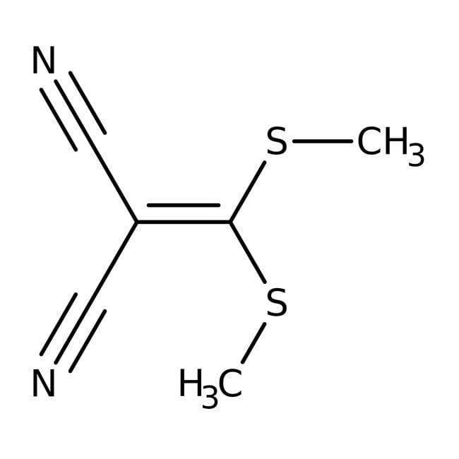 2-[Bis(methylthio)methylene]malononitrile, 97%, Alfa Aesar™