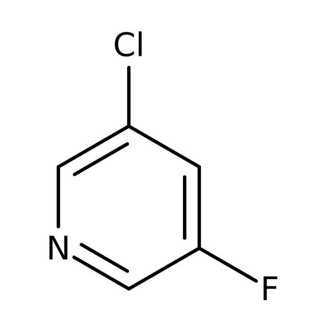 Alfa Aesar  3-Chloro-5-fluoropyridine, 98%