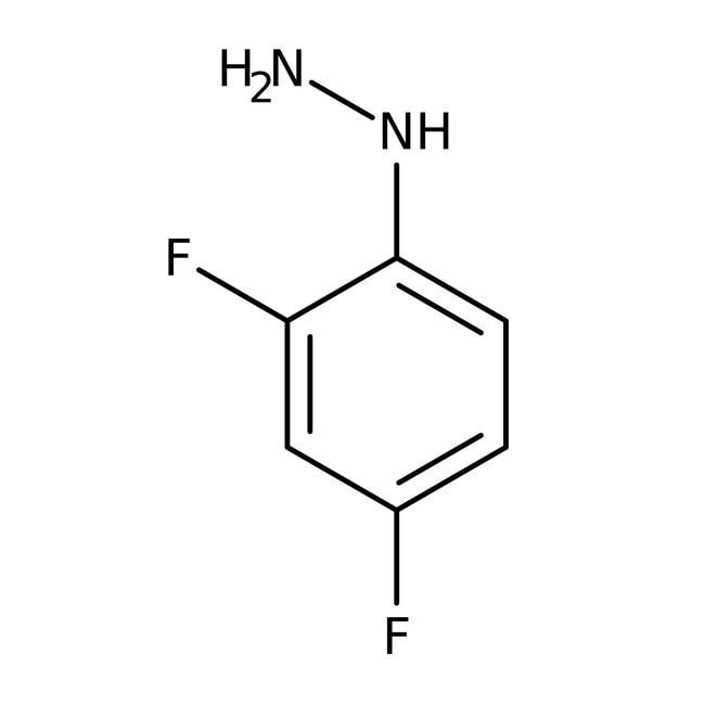 Alfa Aesar™Clorhidrato de 2,4-difluorofenilhidracina, 98% 5g Alfa Aesar™Clorhidrato de 2,4-difluorofenilhidracina, 98%