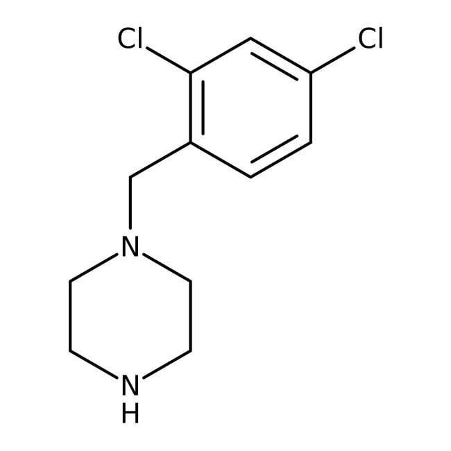 Alfa Aesar™1-(2,4-Dichlorbenzyl)-piperazin, 97% 1g Alfa Aesar™1-(2,4-Dichlorbenzyl)-piperazin, 97%
