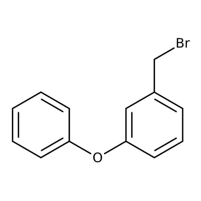 1-(Bromomethyl)-3-phenoxybenzene, 97%, Maybridge™ Amber Glass Bottle; 1g 1-(Bromomethyl)-3-phenoxybenzene, 97%, Maybridge™