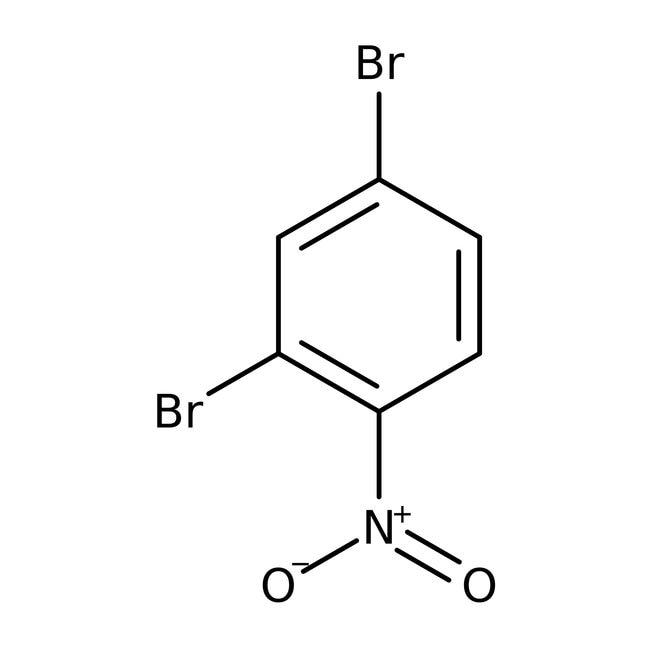 Alfa Aesar™1,3-Dibromo-4-nitrobenzene, 98% 250mg Alfa Aesar™1,3-Dibromo-4-nitrobenzene, 98%