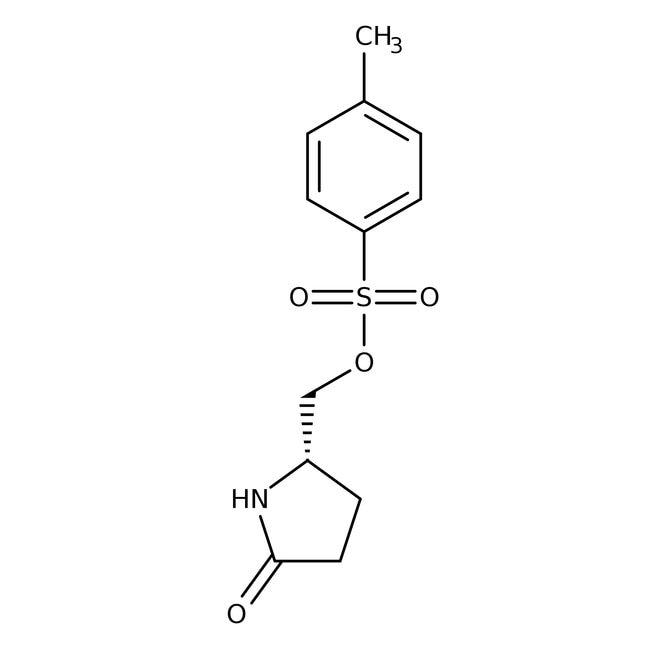 (S)-(+)-5-(Hydroxymethyl)-2-pyrrolidinone p-toluenesulfonate, 95%, ACROS Organics