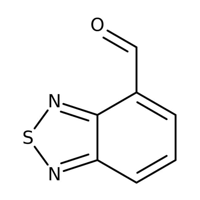2,1,3-Benzothiadiazole-4-carbaldehyde, 95%, Maybridge Amber Glass Bottle; 1g 2,1,3-Benzothiadiazole-4-carbaldehyde, 95%, Maybridge