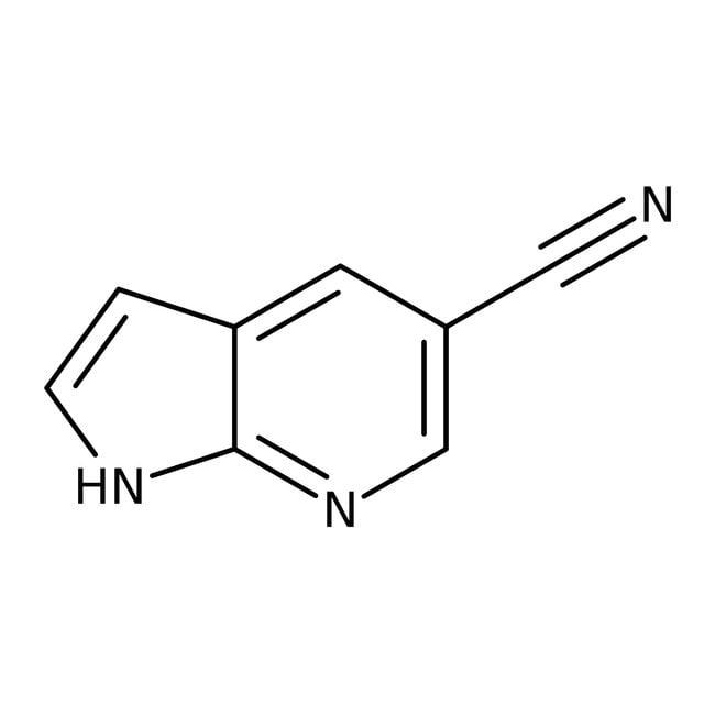 Alfa Aesar™7-Azaindole-5-carbonitrile, 97% 250mg Alfa Aesar™7-Azaindole-5-carbonitrile, 97%