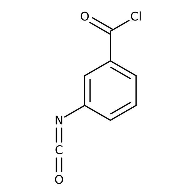 Alfa Aesar™Chlorure de 3-isocyanatobenzoyl, 97% 5g Alfa Aesar™Chlorure de 3-isocyanatobenzoyl, 97%