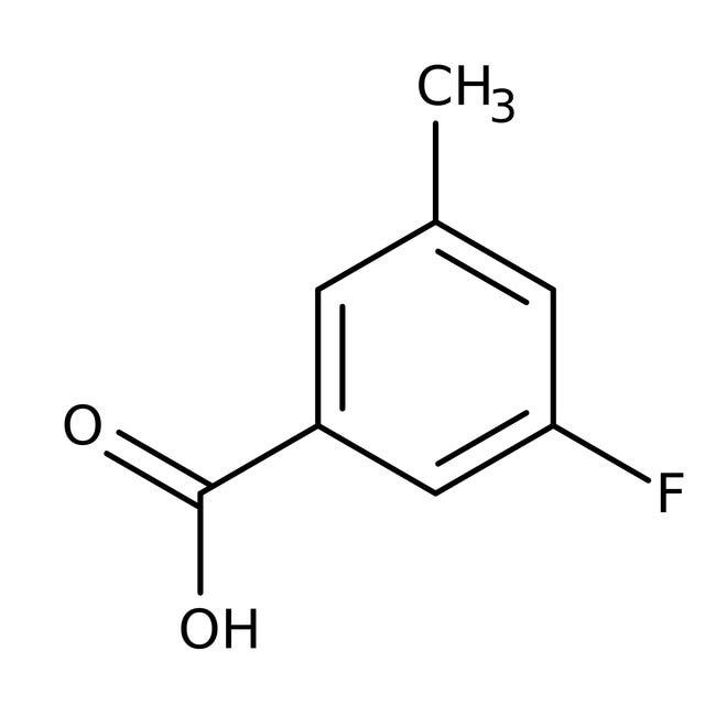 Alfa Aesar™Acide 3-fluoro-5-méthylbenzoïque, 97% 5g Alfa Aesar™Acide 3-fluoro-5-méthylbenzoïque, 97%