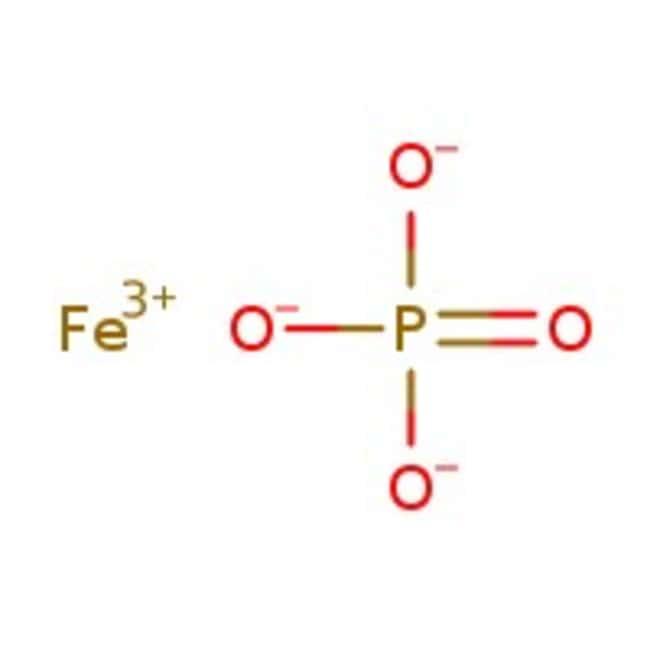 Iron(III) phosphate hydrate, extra pure, Acros Organics