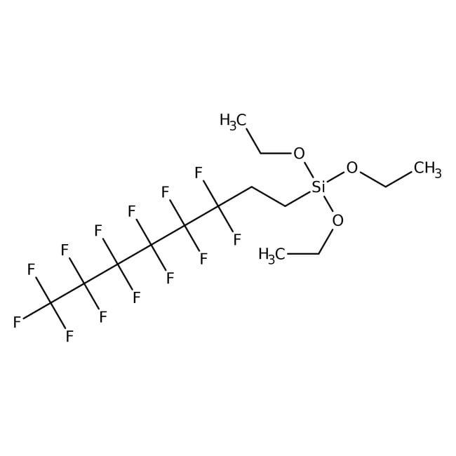 Triethoxy-1H,1H,2H,2H-tridecafluoro-n-octylsilane 97.0+%, TCI America™