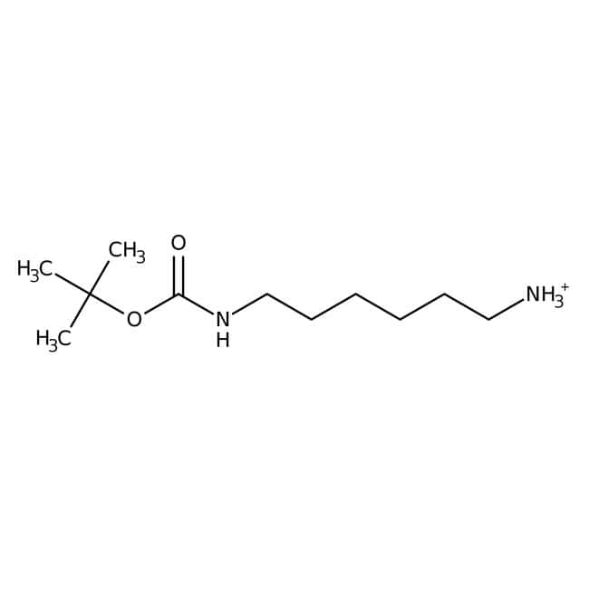 N-tert-Butoxycarbonyl-1,6-hexanediamine, 95%, ACROS Organics™ 1g; Plastic bottle N-tert-Butoxycarbonyl-1,6-hexanediamine, 95%, ACROS Organics™