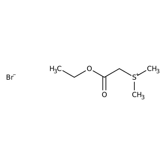 Alfa Aesar™(Ethoxycarbonylmethyl)dimethylsulfoniumbromid, 98%: Organic salts Organische Verbindungen