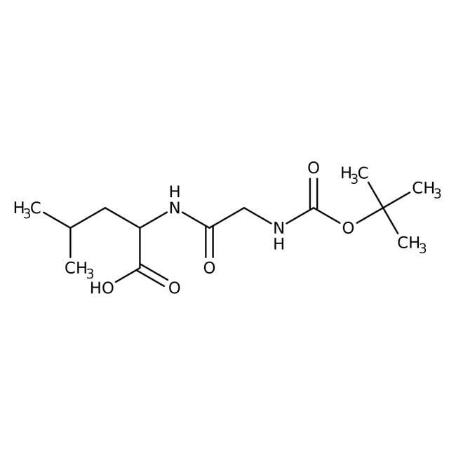 Alfa Aesar™N-Boc-glycyl-L-leucine, 98% 250mg Alfa Aesar™N-Boc-glycyl-L-leucine, 98%